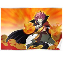 Natsu timeskip (after one  year)- fairy tail Poster