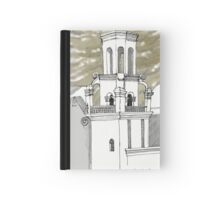 San Xavier Mission East Tower Hardcover Journal