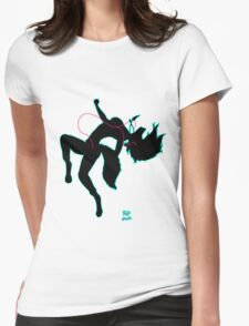 Move It - female canine  Womens Fitted T-Shirt