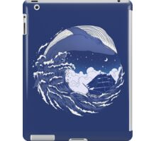 The great whale  iPad Case/Skin