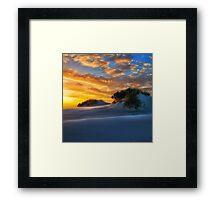 Dune Sunset Framed Print