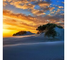 Dune Sunset Photographic Print