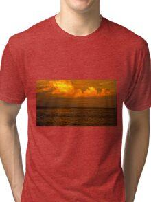 Billowy Sunset Tri-blend T-Shirt