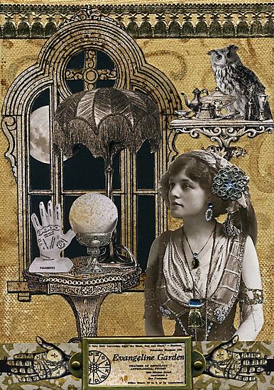 Evangeline Garden's Astrological Studio by WinonaCookie