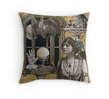 Evangeline Garden's Astrological Studio Throw Pillow