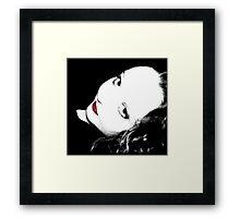 Red Whisper Framed Print
