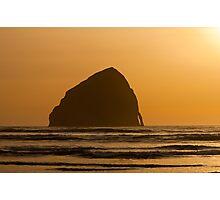 Haystack Rock - Pacific City Photographic Print