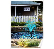 Blue Fountain - Wheatbelt WA Poster