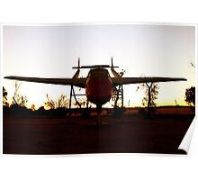 Sunset Flight - Western Australia Poster