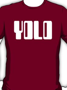 'YOLO' by Chillee Wilson T-Shirt