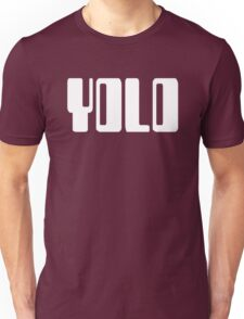 'YOLO' by Chillee Wilson Unisex T-Shirt