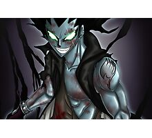 Gajeel - fairy tail Photographic Print
