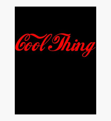 'Cool Thing' by Chillee Wilson Photographic Print