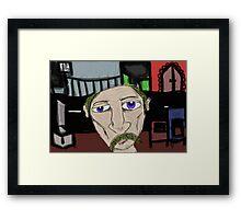 The Homeless Framed Print