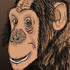 Monkey Smile by Erick Guadarrama