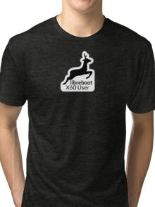 Libreboot X60 User Tri-blend T-Shirt
