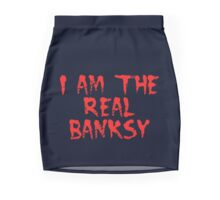 I am the Real Banksy by Chillee Wilson Pencil Skirt