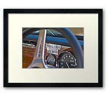 Race Strategy Framed Print