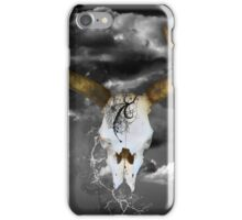 COW SKULL iPhone Case/Skin