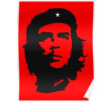 Che Guevara, Revolution, Marxist, Revolutionary, Cuba, Power to the people! Black on Red Poster