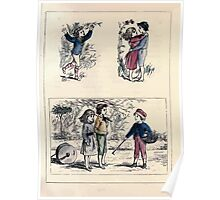 The Little Folks Painting book by George Weatherly and Kate Greenaway 0053 Poster