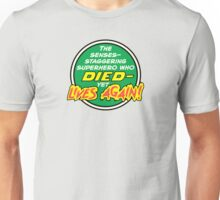 Comic Book Memories: Died Yet Lives Again! Unisex T-Shirt