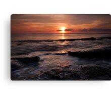 Sunrise ~ Jervis Bay NSW Australia Canvas Print