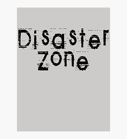 Disaster Zone by Chillee Wilson Photographic Print