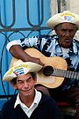 Street singers, Havana, Cuba by David Carton