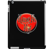 Kung Fu Kid, Chinese, China, Martial Art, Fight Club, MMA iPad Case/Skin