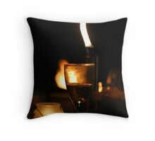 Glass of wine? Throw Pillow