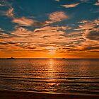 LAST NIGHT SUNSET by Gerard Rotse