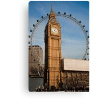 The Two Eyes of London Canvas Print