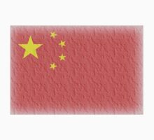 CHINA, FADED CHINESE FLAG, Flag of China, People's Republic of China, China, Pure & Simple, FADED Kids Clothes