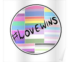 Love Wins Circle  Poster