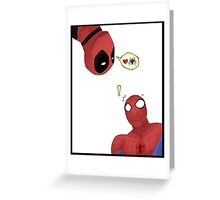 Love Spidey Greeting Card