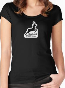 Libreboot T500 User Women's Fitted Scoop T-Shirt