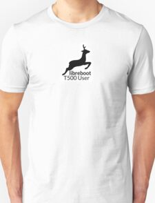 Libreboot T500 User T-Shirt