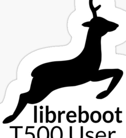 Libreboot T500 User Sticker
