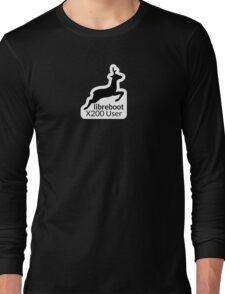 Libreboot X200 User Long Sleeve T-Shirt