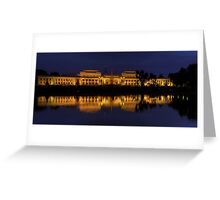 Order in The House (Panoramic)- Old Parliament House, Canberra Australia - The HDR Experience Greeting Card