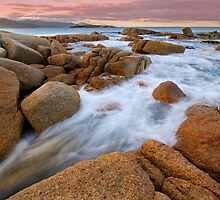 Rocky Shores - Bicheno Tasmania by Hans Kawitzki