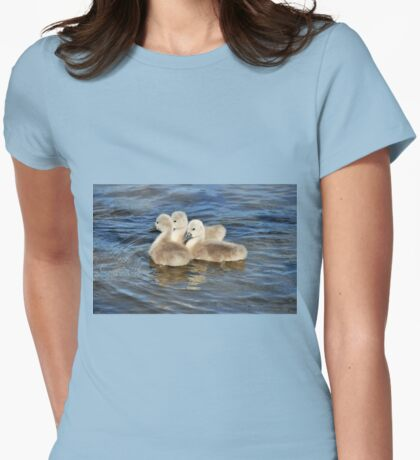 Cygnets Womens Fitted T-Shirt