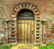 Church Door by Jamie  Green