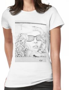 Cadillac Chic Womens Fitted T-Shirt