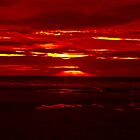 Blood red sky. by saoirse breheney