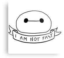 I am not fast  Metal Print