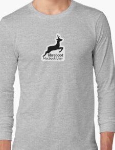 Libreboot Macbook User Long Sleeve T-Shirt