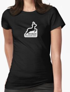 Libreboot Macbook User Womens Fitted T-Shirt