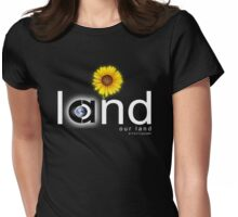 land our land Womens Fitted T-Shirt